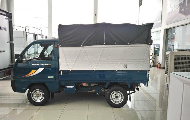 Xe tải thùng bạt Thaco Towner800 tải trọng 9 tạ - Hỗ trợ trả góp ngân hàng0