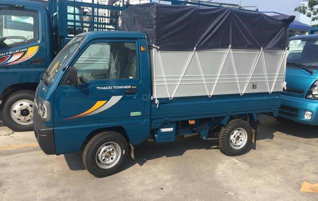 Xe tải thùng bạt Thaco Towner800 tải trọng 9 tạ - Hỗ trợ trả góp ngân hàng3
