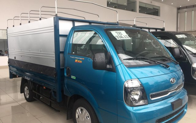 Xe tải Kia 1.25 tấn nâng tải 1.9 tấn thùng bạt - hỗ trợ trả góp ngân hàng, lãi suất ưu đãi2