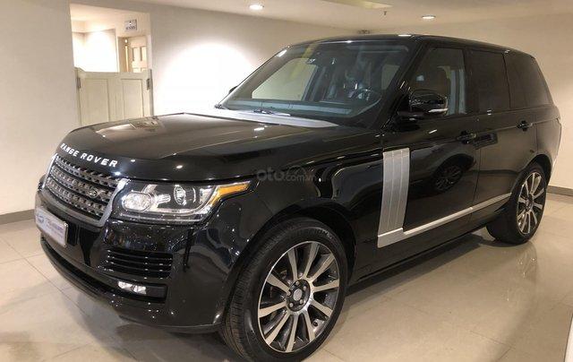 Bán LandRover Range Rover HSE 3.0 2014, màu đen, nhập khẩu, xe bán tại hãng1