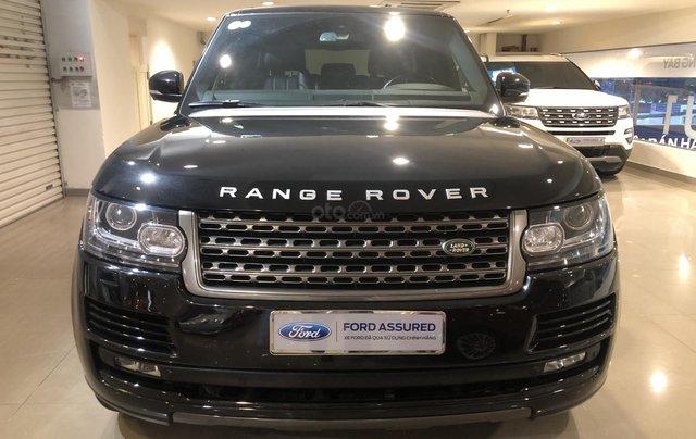 Bán LandRover Range Rover HSE 3.0 2014, màu đen, nhập khẩu, xe bán tại hãng5