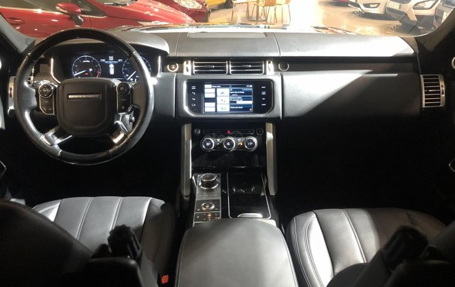 Bán LandRover Range Rover HSE 3.0 2014, màu đen, nhập khẩu, xe bán tại hãng6