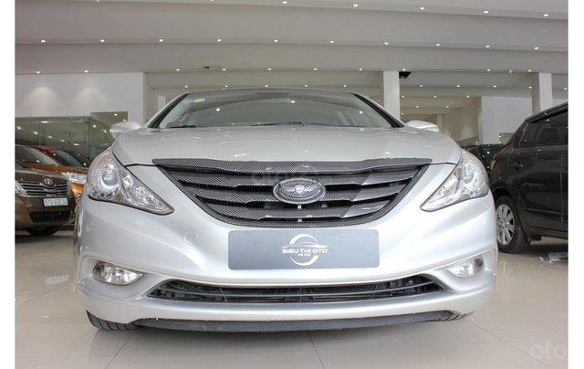 HCM: Hyundai Sonata 2011, màu trắng, xe nhập0