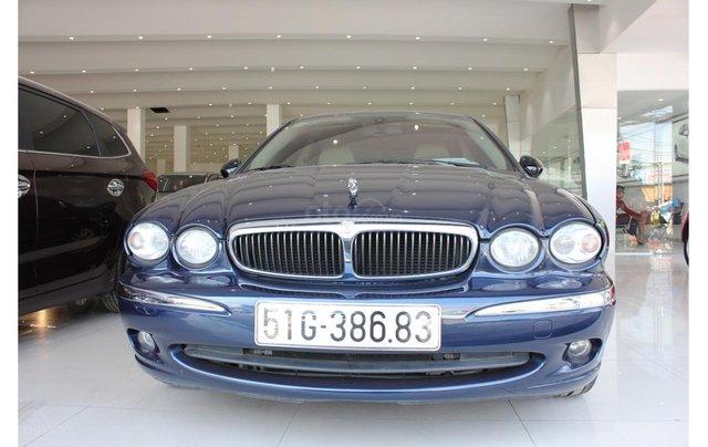 HCM: Jaguar X Type 2.1 V6 AT 2009, màu xanh, xe nhập0