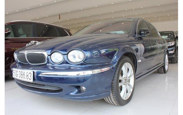 HCM: Jaguar X Type 2.1 V6 AT 2009, màu xanh, xe nhập1