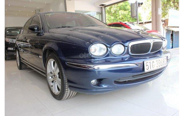 HCM: Jaguar X Type 2.1 V6 AT 2009, màu xanh, xe nhập2