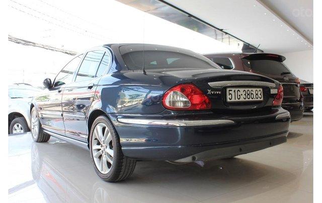 HCM: Jaguar X Type 2.1 V6 AT 2009, màu xanh, xe nhập3