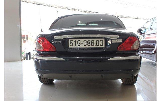 HCM: Jaguar X Type 2.1 V6 AT 2009, màu xanh, xe nhập5