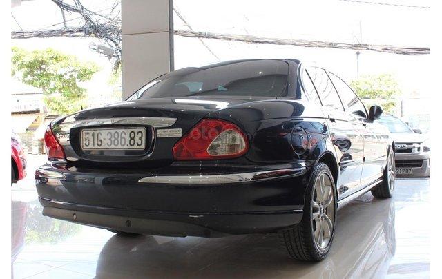 HCM: Jaguar X Type 2.1 V6 AT 2009, màu xanh, xe nhập4