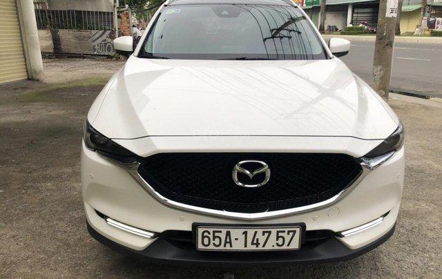 Bán Mazda CX5 2.5AT AWD màu trắng camay, số tự động, sản xuất 2018 đi 26000km3
