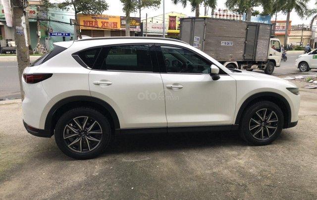 Bán Mazda CX5 2.5AT AWD màu trắng camay, số tự động, sản xuất 2018 đi 26000km5