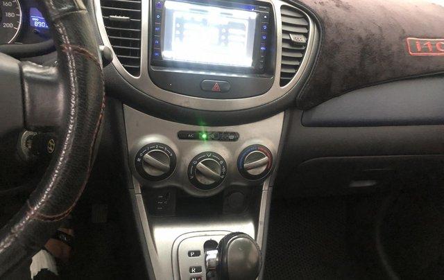 Bán xe Hyundai Grand i10 đời 2011, màu xanh lam, nhập khẩu5