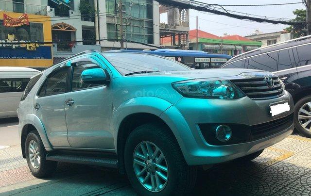 Bán Toyota Fortuner đời 2013, màu bạc, giá 670tr2