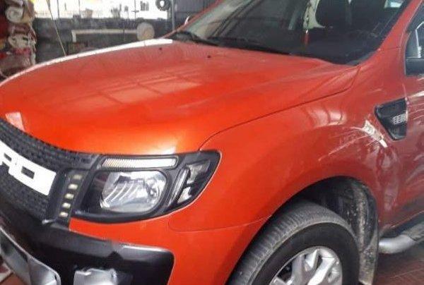 Bán Ford Ranger đời 2014, nhập khẩu, màu cam0
