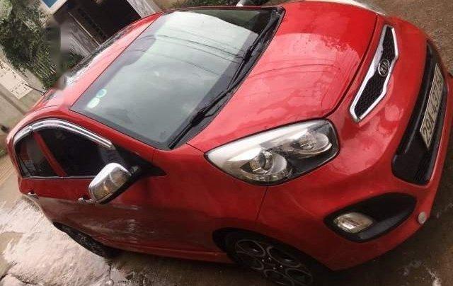 Bán ô tô Kia Morning sản xuất năm 2011, màu đỏ chính chủ1