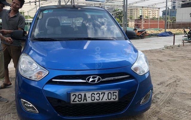 Bán xe Hyundai Grand i10 đời 2011, màu xanh lam, nhập khẩu0