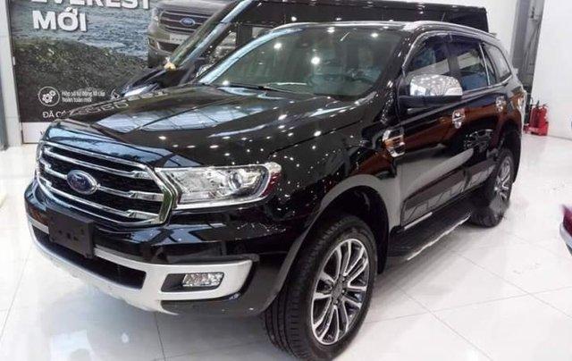 Cần bán xe Ford Everest năm 2019, màu đen, nhập khẩu nguyên chiếc1