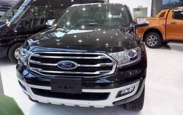 Cần bán xe Ford Everest năm 2019, màu đen, nhập khẩu nguyên chiếc0