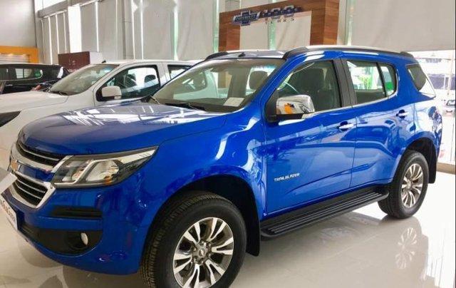 Cần bán Chevrolet Trailblazer sản xuất 2019, màu xanh lam, xe nhập, 785tr3
