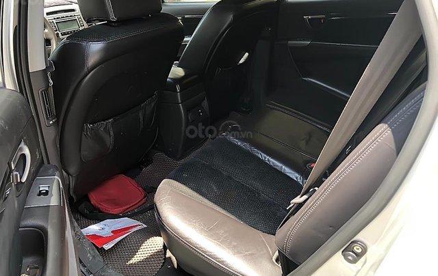 Cần bán gấp Hyundai Santa Fe SLX đời 2009, màu bạc, nhập khẩu 1