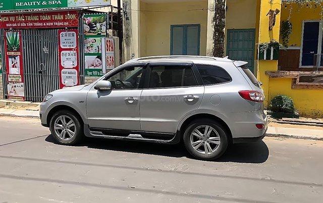 Cần bán gấp Hyundai Santa Fe SLX đời 2009, màu bạc, nhập khẩu 0