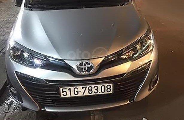 Bán Toyota Vios G CTV 2019, màu bạc số tự động, giá chỉ 575 triệu0