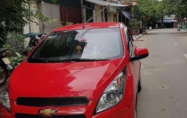 Bán xe Chevrolet Spark Van đời 2017, màu đỏ1