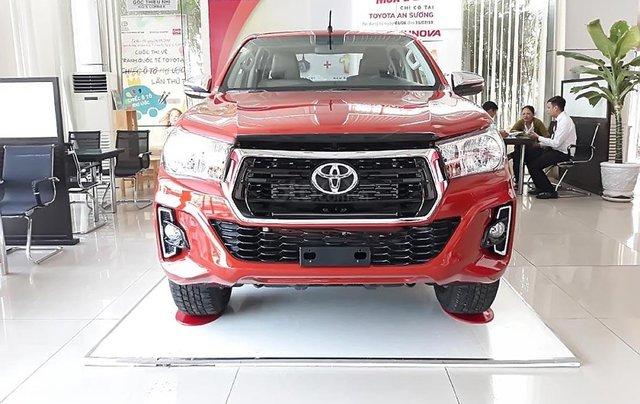 Bán xe Toyota Hilux 2.4G 2019, màu đỏ, nhập khẩu, xe mới hoàn toàn0