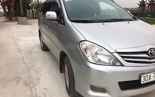 Cần bán xe Toyota Innova G sản xuất 2010, màu bạc1