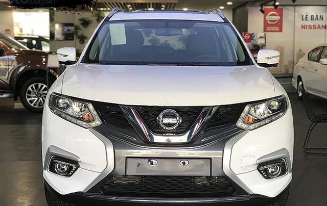 Bán Nissan X trail sản xuất 2019, màu trắng, xe mới 100%0
