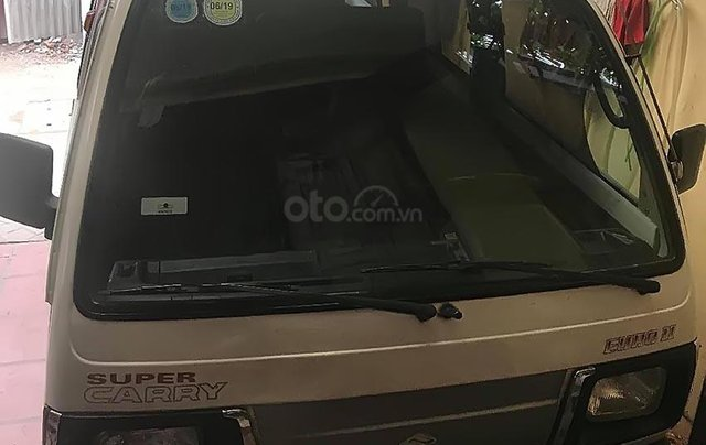 Bán Suzuki Super Carry Van sản xuất 2002, màu trắng2