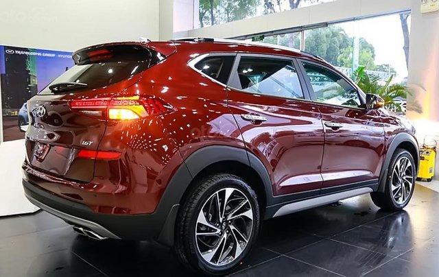 Bán xe Hyundai Tucson 1.6 AT Turbo đời 2019, màu đỏ. Xe mới hoàn toàn2