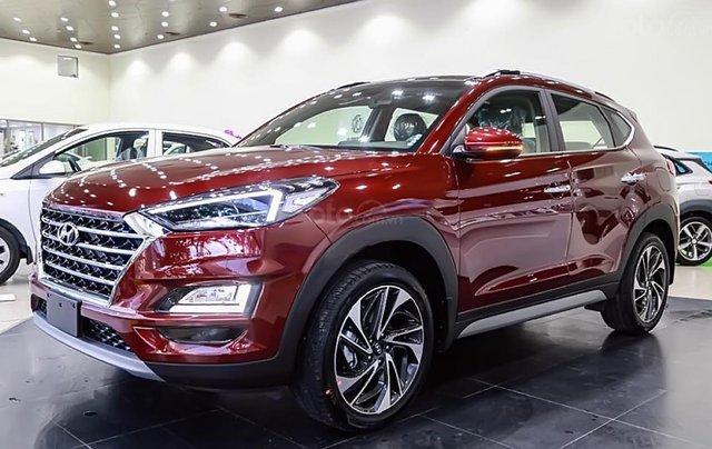 Bán xe Hyundai Tucson 1.6 AT Turbo đời 2019, màu đỏ. Xe mới hoàn toàn0