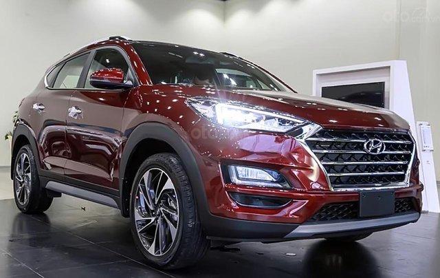 Bán xe Hyundai Tucson 1.6 AT Turbo đời 2019, màu đỏ. Xe mới hoàn toàn3