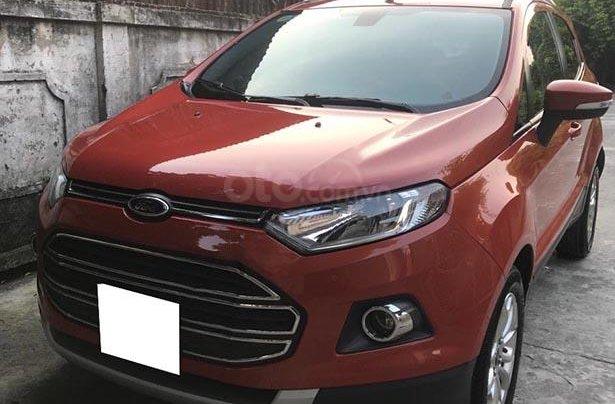 Cần bán Ford EcoSport năm sản xuất 2015, màu đỏ 0