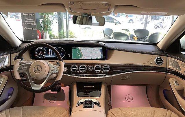 Xe Mercedes S450L đời 2017, màu trắng như mới1