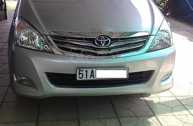 Cần bán xe Toyota Innova G sản xuất 2008, màu bạc 1