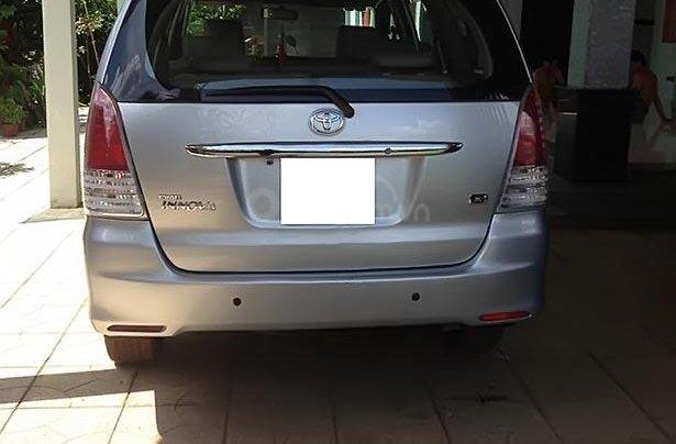 Cần bán xe Toyota Innova G sản xuất 2008, màu bạc 0