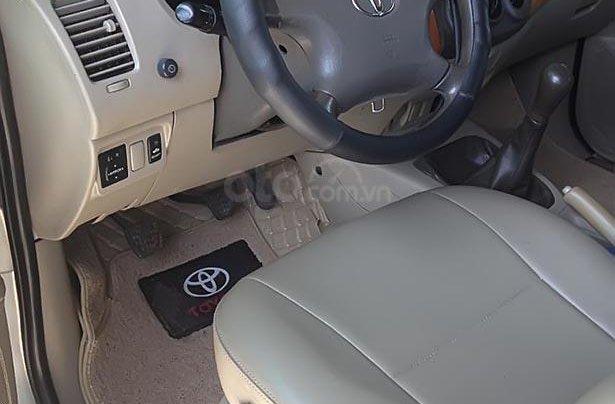 Cần bán xe Toyota Innova G sản xuất 2008, màu bạc 4
