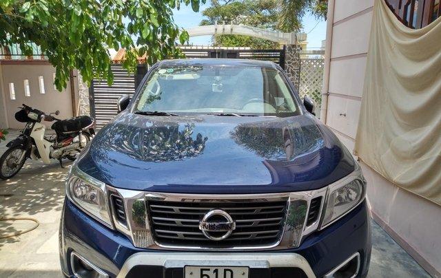 Bán xe Nissan Navara EL Premium sản xuất năm 2017, màu xanh lam, nhập khẩu nguyên chiếc0