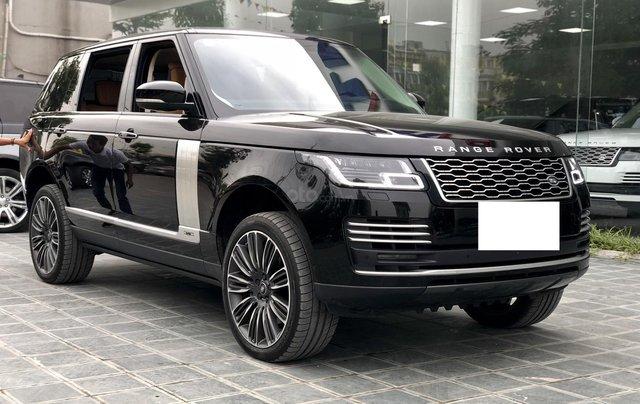 Bán ô tô LandRover Range Rover Autobio LWB SX 2018, màu đen, siêu siêu lướt 5000 km, LH: 0982.84.28381