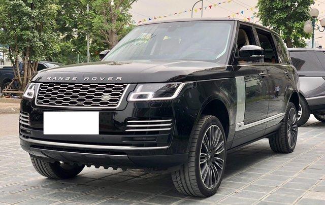 Bán ô tô LandRover Range Rover Autobio LWB SX 2018, màu đen, siêu siêu lướt 5000 km, LH: 0982.84.28382