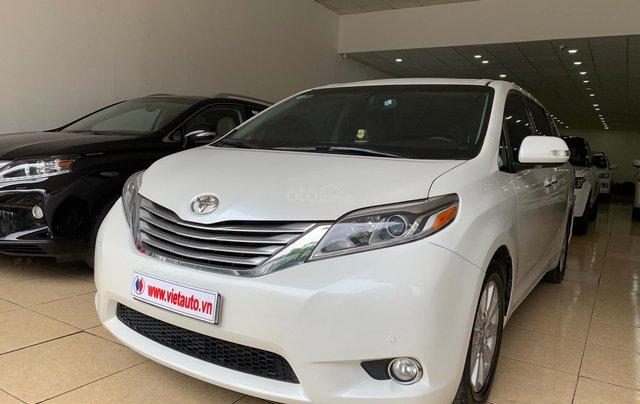 Bán Toyota Sienna Limited 3.5 đời 2016, màu trắng, nhập Mỹ đủ đồ1