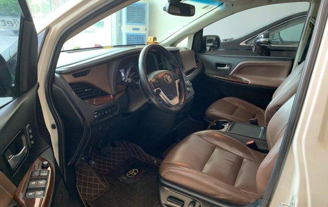 Bán Toyota Sienna Limited 3.5 đời 2016, màu trắng, nhập Mỹ đủ đồ5