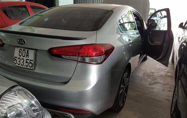 Bán Kia Cerato 1.6MT màu bạc, số sàn, bản đủ, sản xuất 2018, chạy lướt xe đẹp3