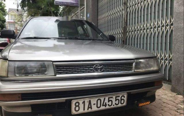 Bán xe Toyota Corolla đời 1991, màu bạc, nhập khẩu1