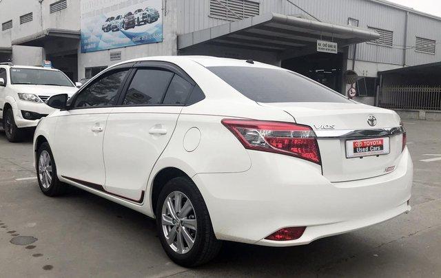 Cần bán xe Toyota Vios 1.5G AT 2017, màu trắng giá cạnh tranh2