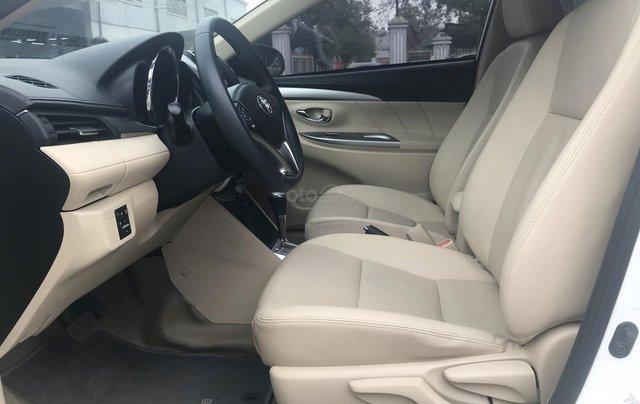 Cần bán xe Toyota Vios 1.5G AT 2017, màu trắng giá cạnh tranh3