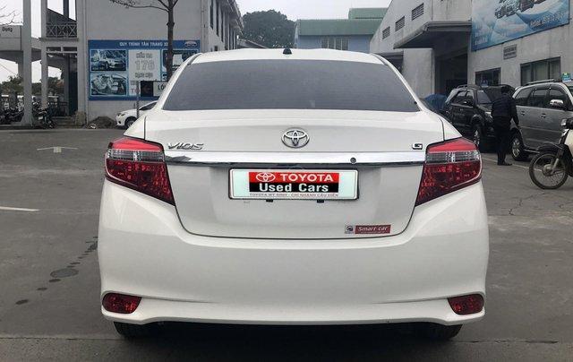 Cần bán xe Toyota Vios 1.5G AT 2017, màu trắng giá cạnh tranh6