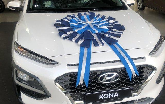 Bán Hyundai Kona sản xuất năm 2019, màu trắng, giá 641tr0